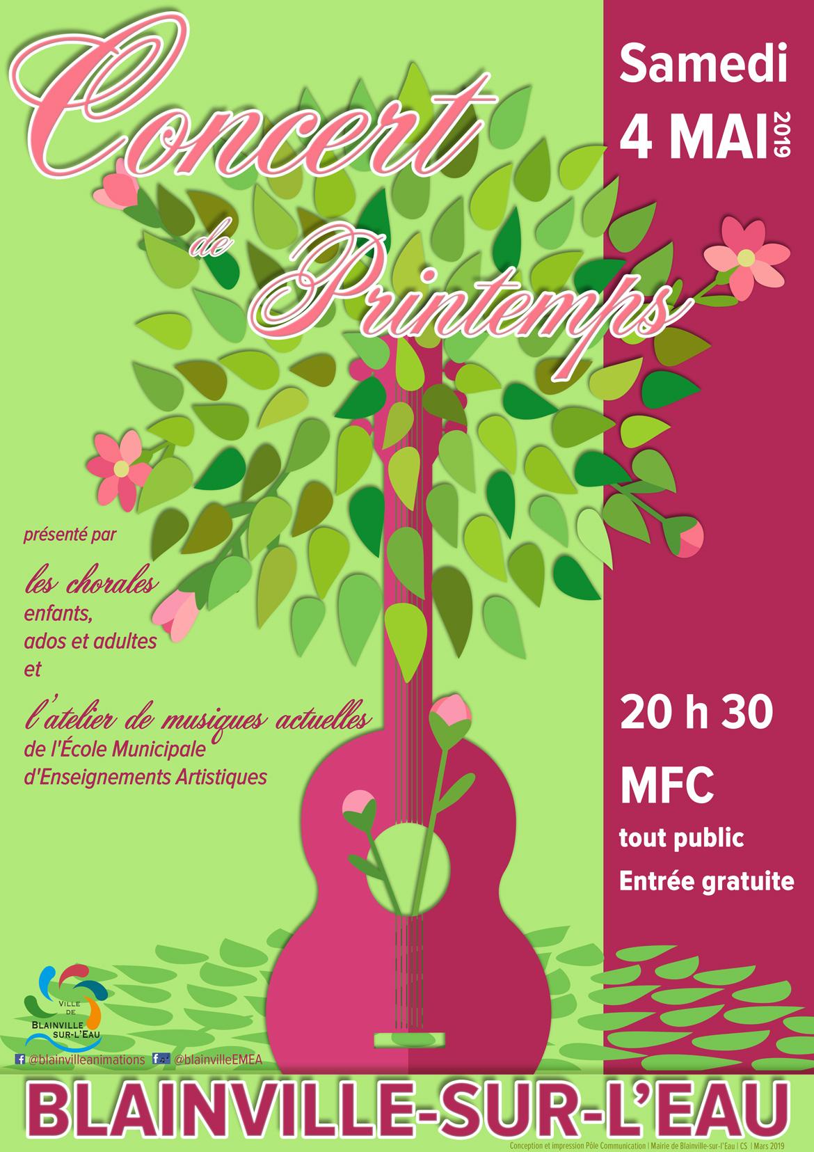 Concert de Printemps de l'EMEA